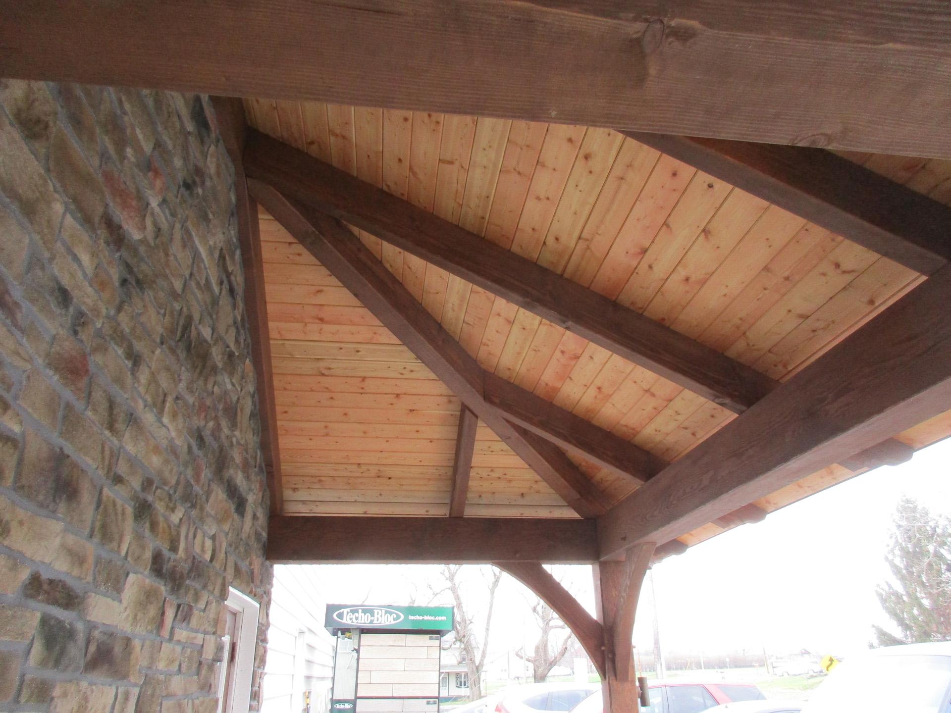 Porch Ceiling Detail