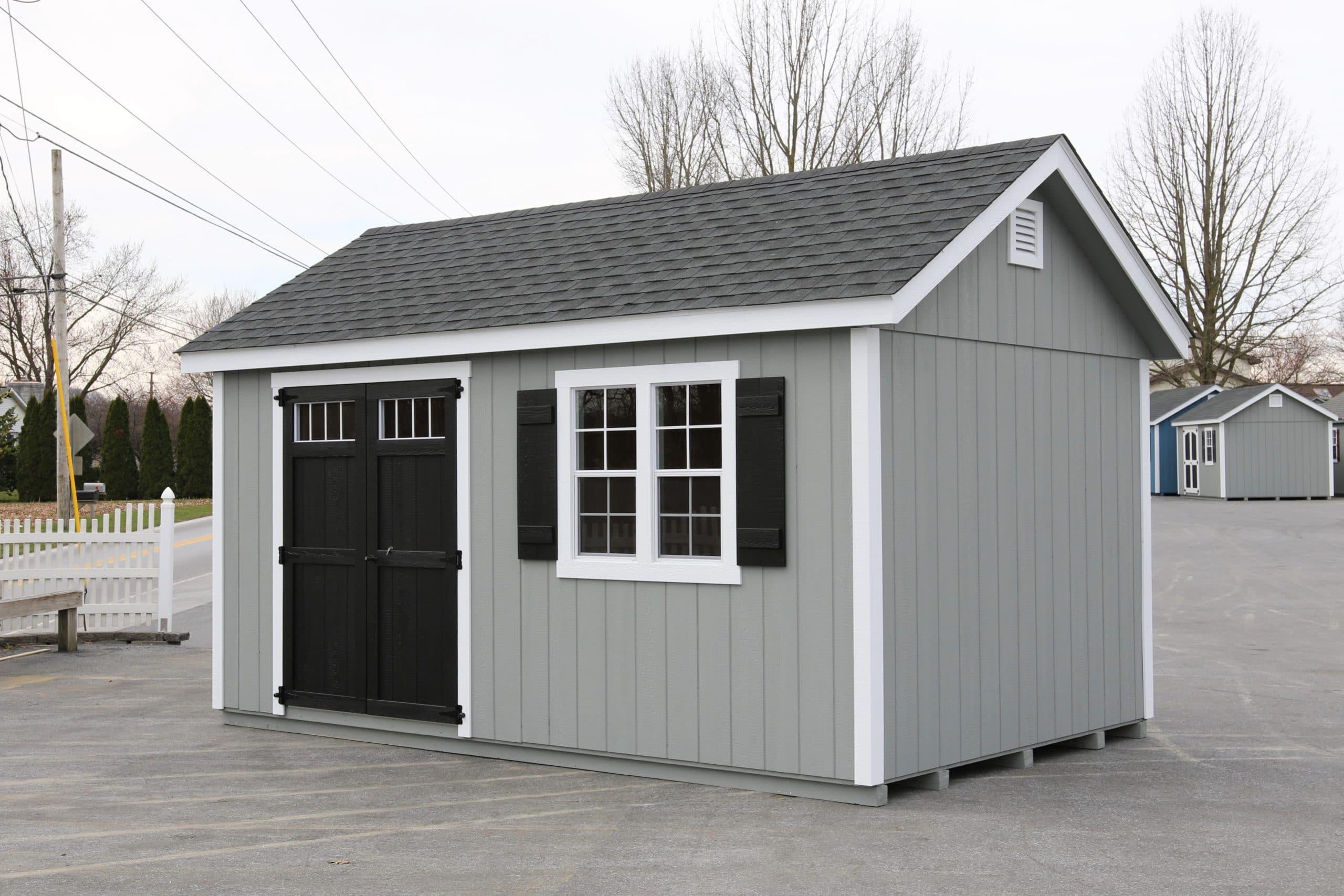 10x16 Wood Workshop 1