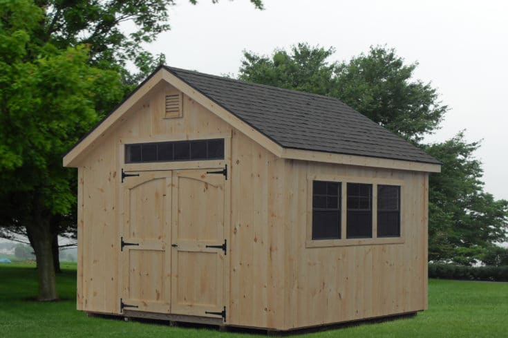 12×14 Tongue and Groove Workshop