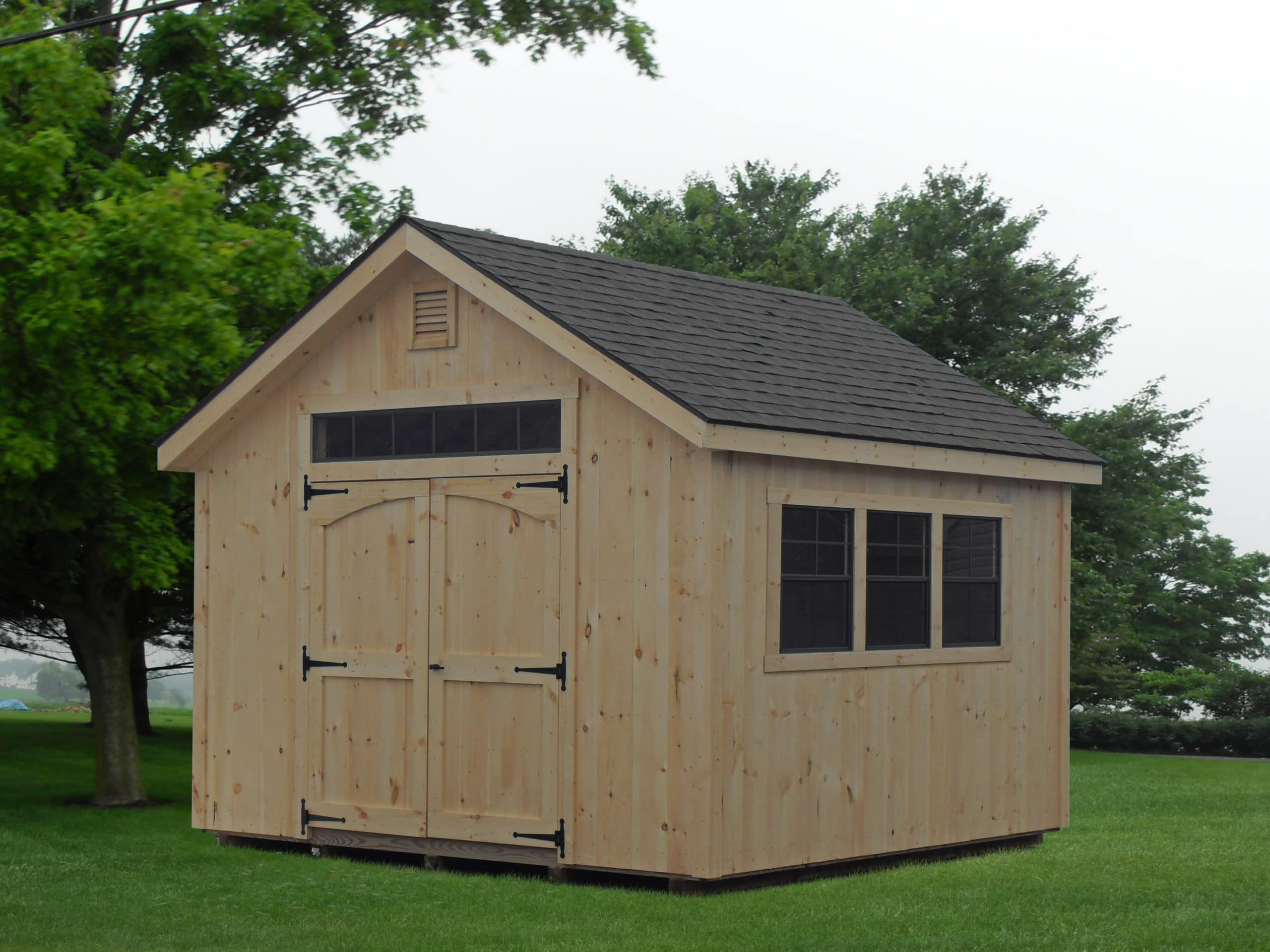 12x14 Tongue and Groove Workshop 1