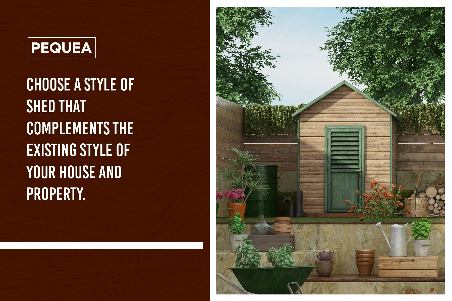 complementing your property with a storage shed